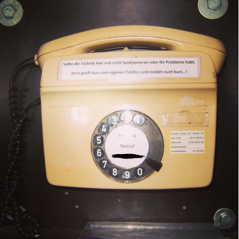 Notfalltelefon?