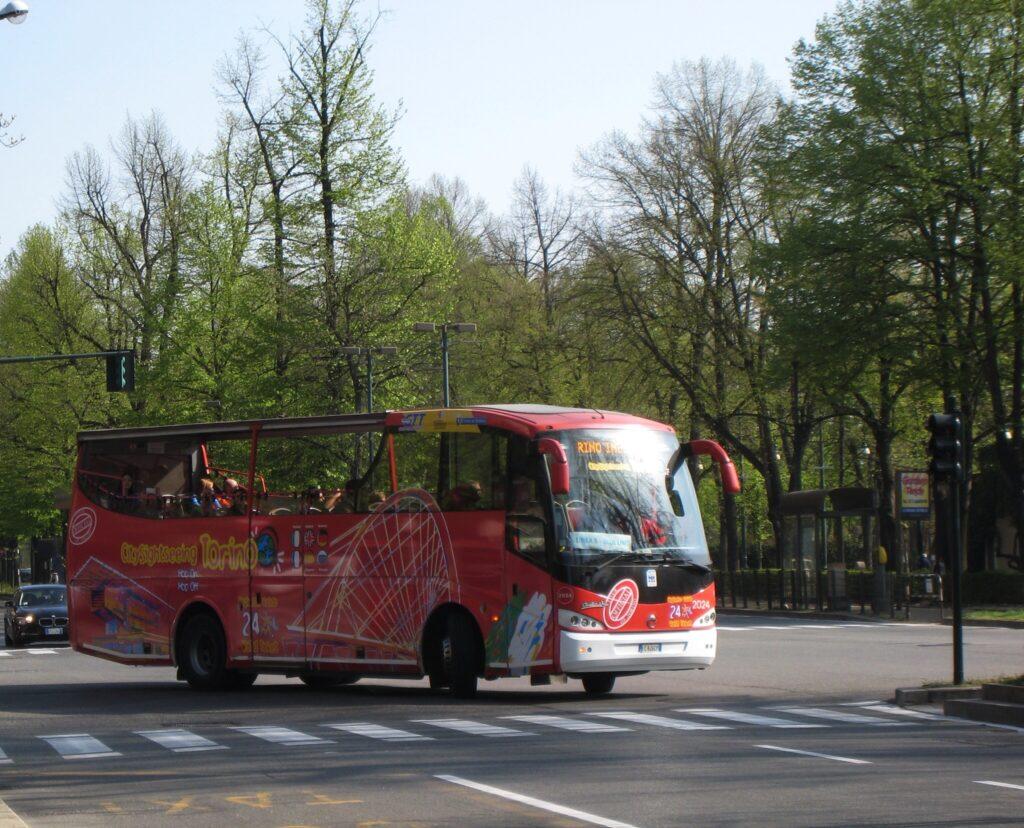 Hop-on-hop-off-Bus Turin