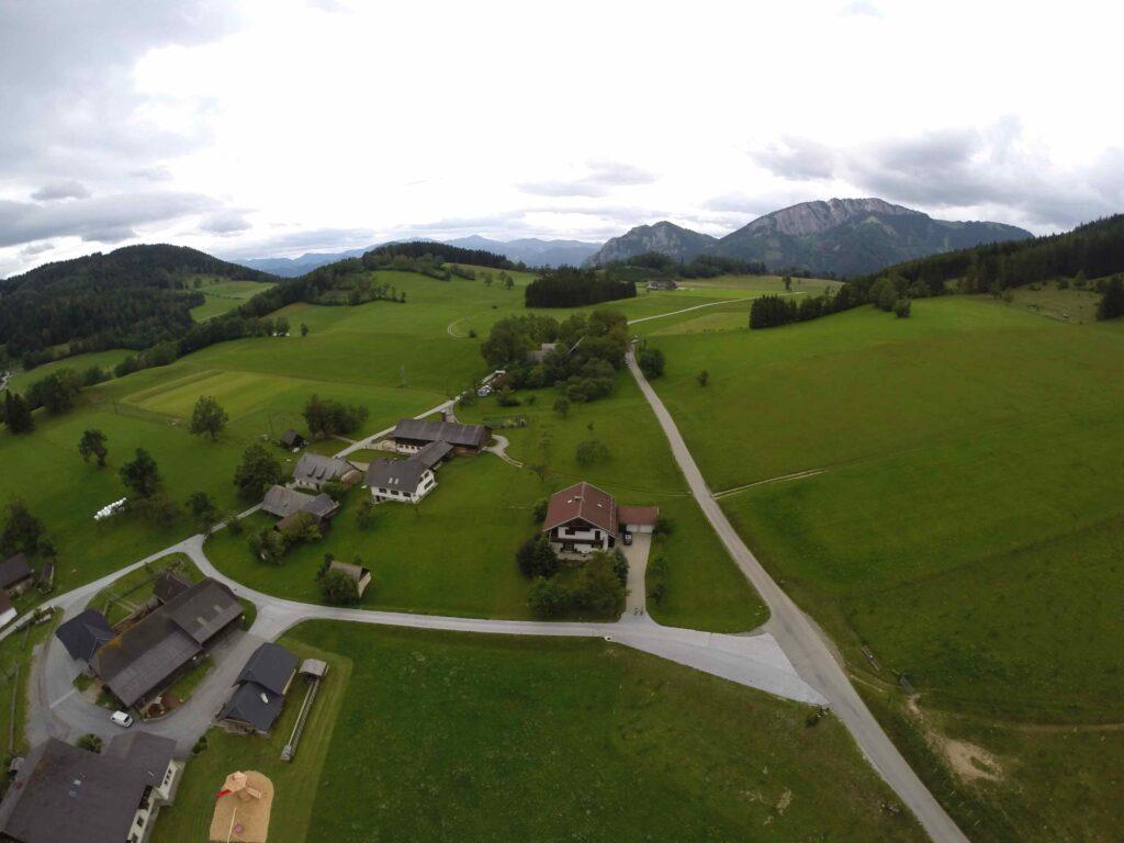 Blick mit der GoPro auf das Nechnitz-Plateau - Foto (c) Deti ;-)