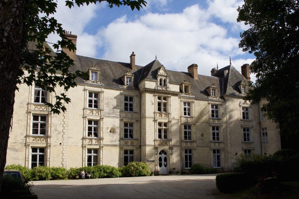 Spapom im Burghotel de Villeray Normandie Frankreich