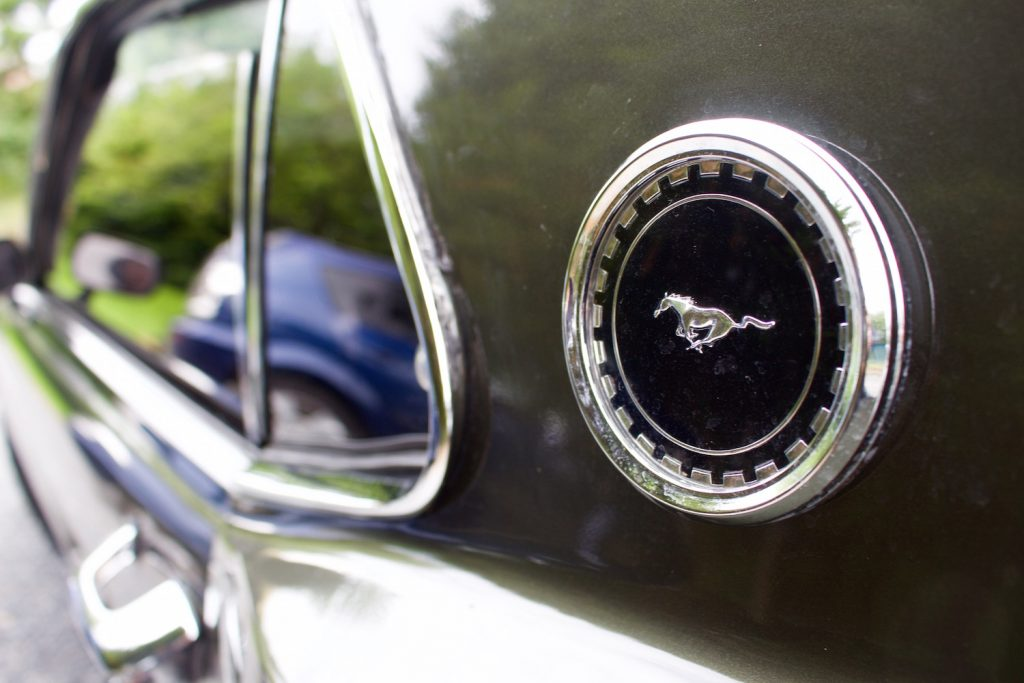 Normandie Vernier Moor Roadtrip vielweib Frankreich Mustang Ford
