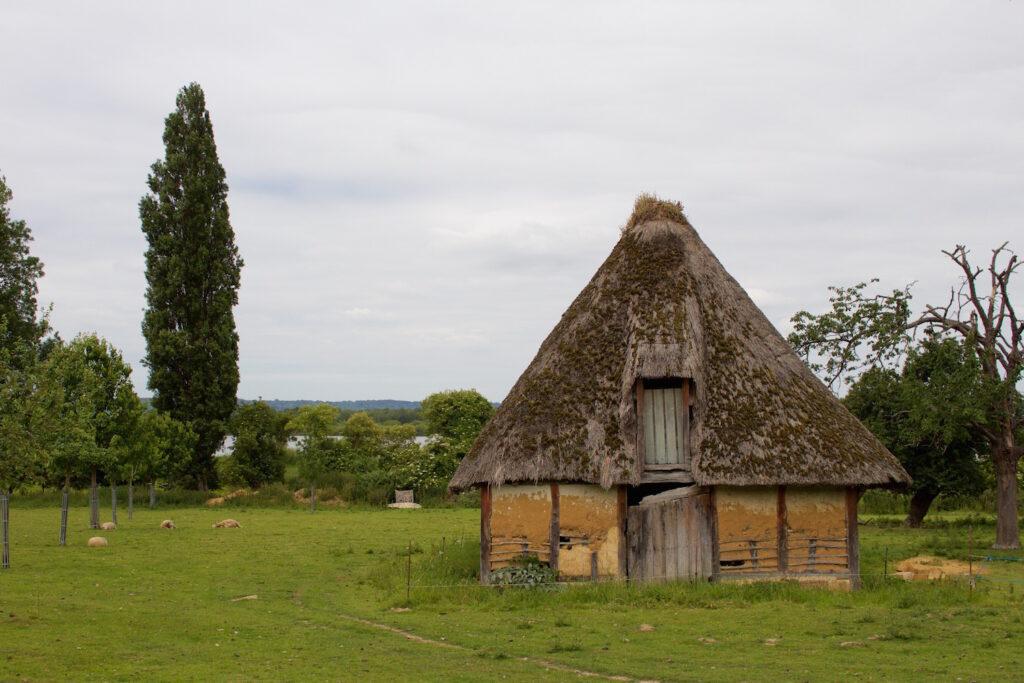 alte Häuser Fachwerk Normandie Frankreich Route Chamières Naturpark
