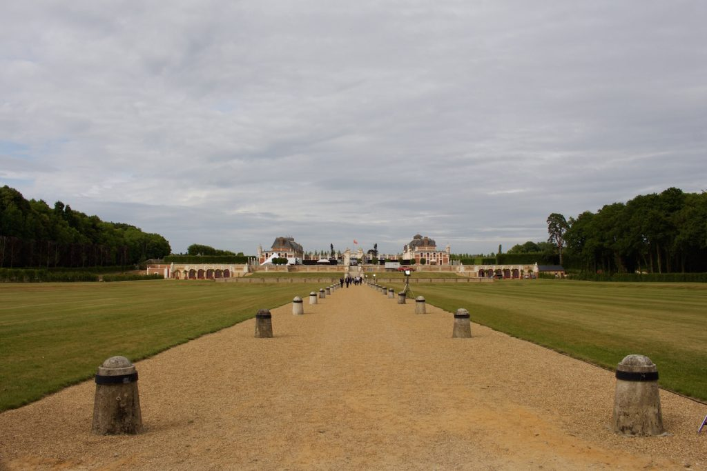Chateau du Champs bietet eine sehr weitläufige Anlage Normandie Urlaub Frankreich
