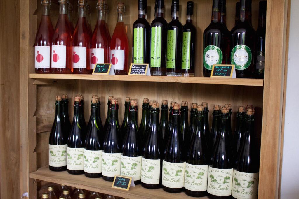 Besser Platz im Koffer für diese Köstlichkeiten lassen Apfelplantage Normandie