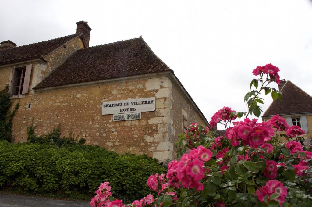 Spapom im Burghotel de Villeray Normandie Frankreich Urlaub