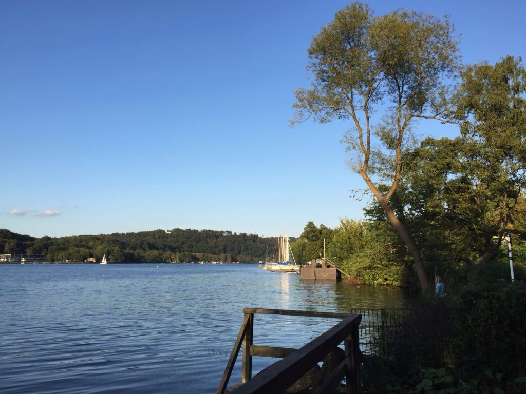 Das Ruhrgebiet ist mehr als nur grün: Der Baldeneysee in Essens Süden