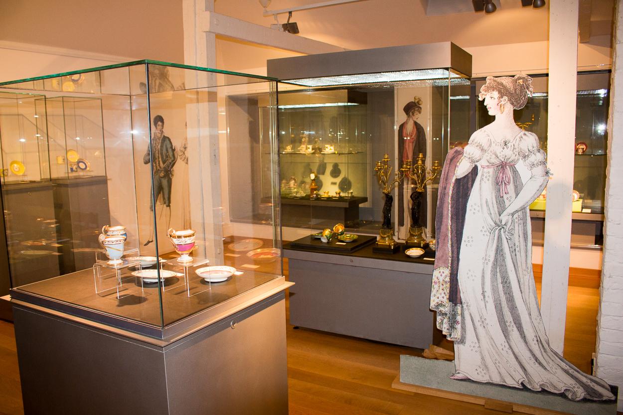 Im Huelsmann Museum werden verschiede Epochen des Kunsthandwerks ausgestellt.
