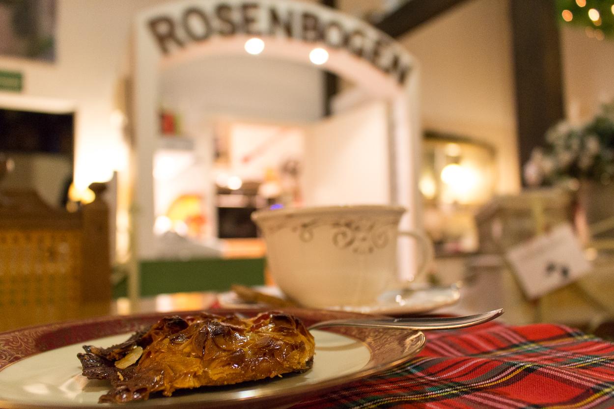 Unheimlich leckere Florentiner gibt es im Café Rosenbogen - unbedingt probieren
