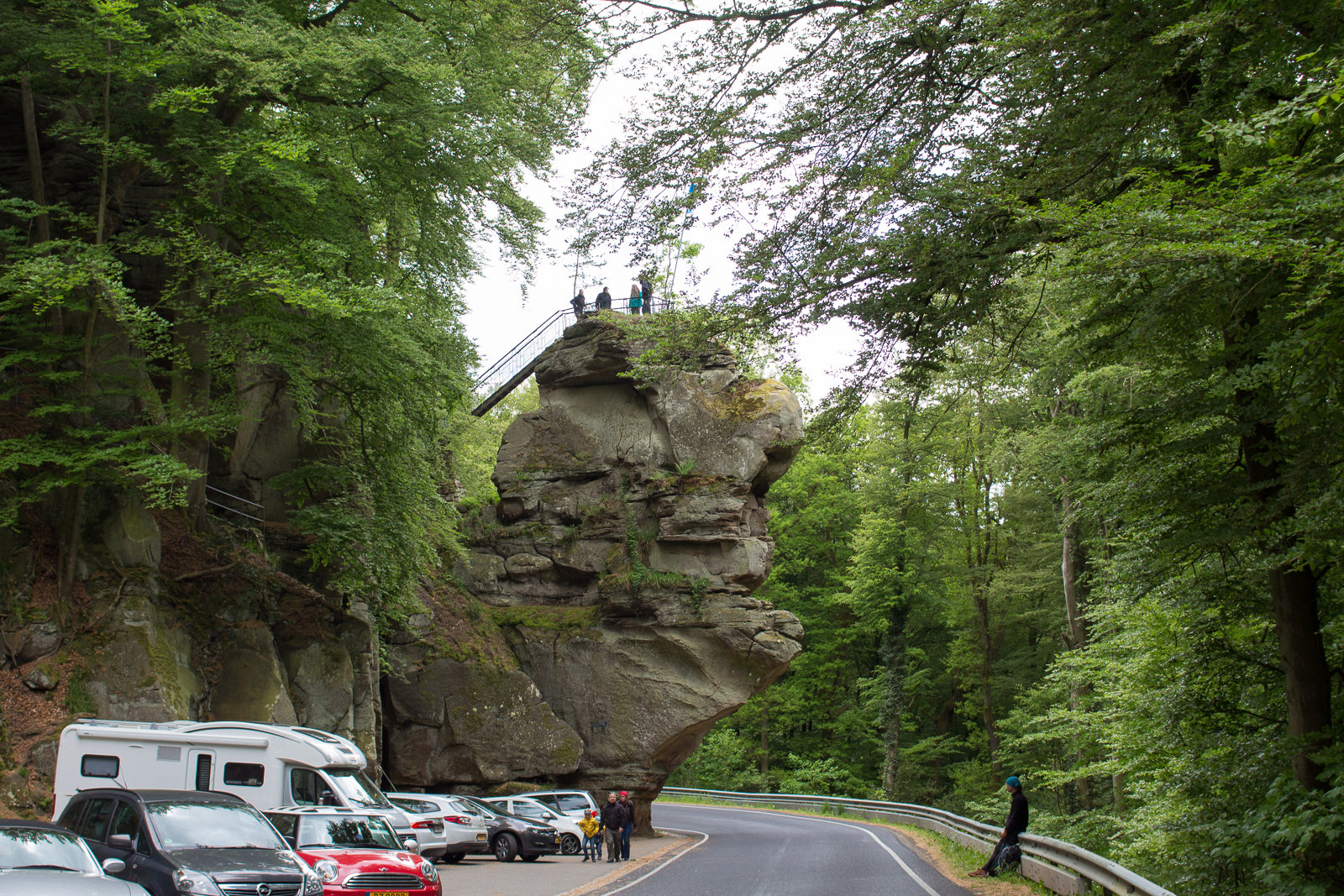 Luxemburg, Luxembourg, Roadtrip, Cabriotour, Müllerthal, Felsen