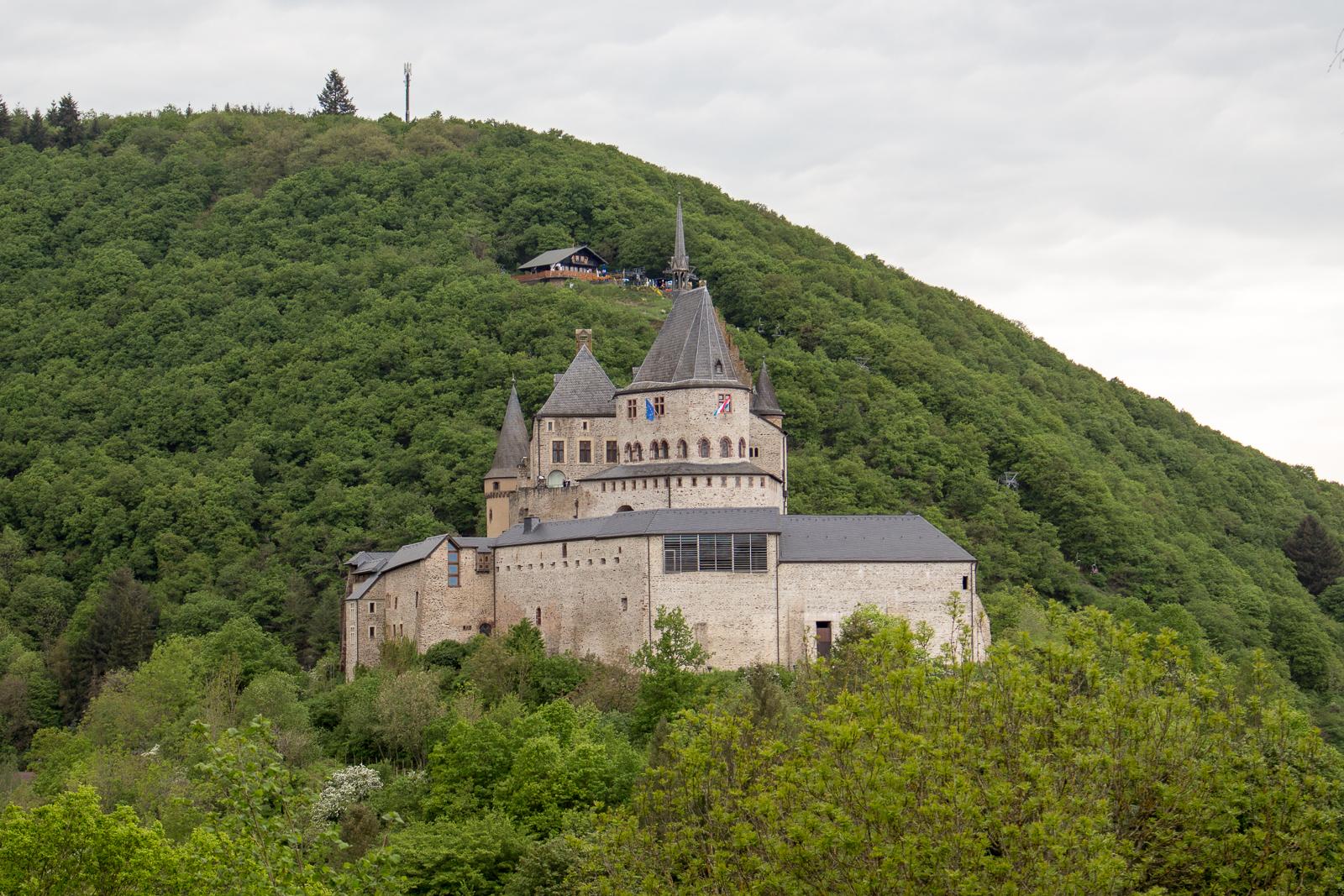 Luxemburg, Luxembourg, Roadtrip, Cabriotour, Vianden, Burg