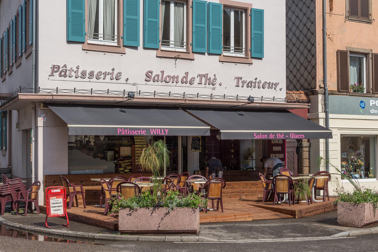 Munster, Elsass, Frankreich, Brezel, Bretzel, Workshop
