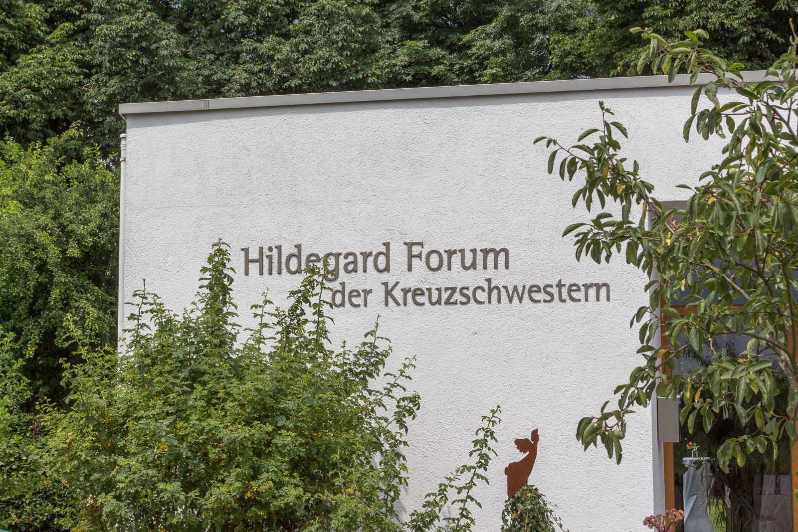 Hildegard von Bingen, Bingen am Rhein