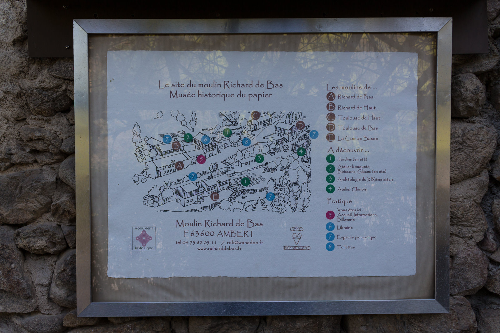 Auvergne, Roadtrip, Amber, Papiermühle, Museum