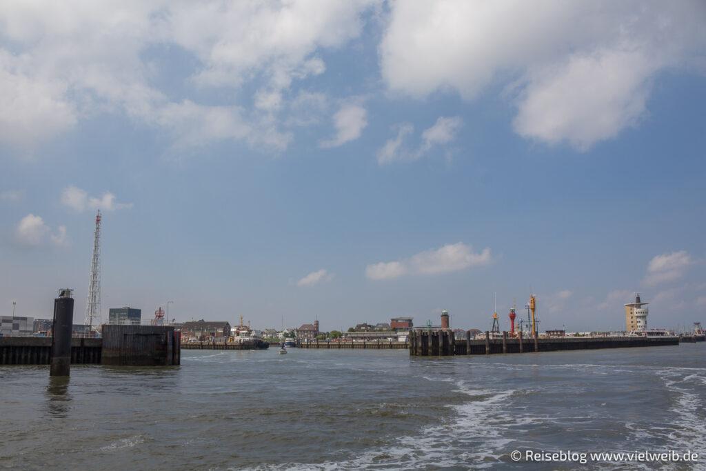Cuxhaven, Hafen, Schifffahrt