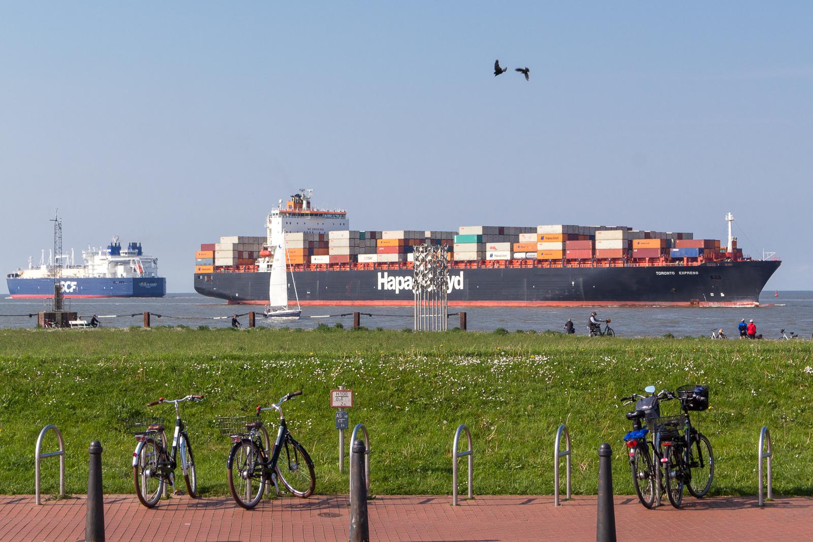 Cuxhaven, Wochenendreise, Hafen, Hafenrundfahrt, Schiffe, Boote