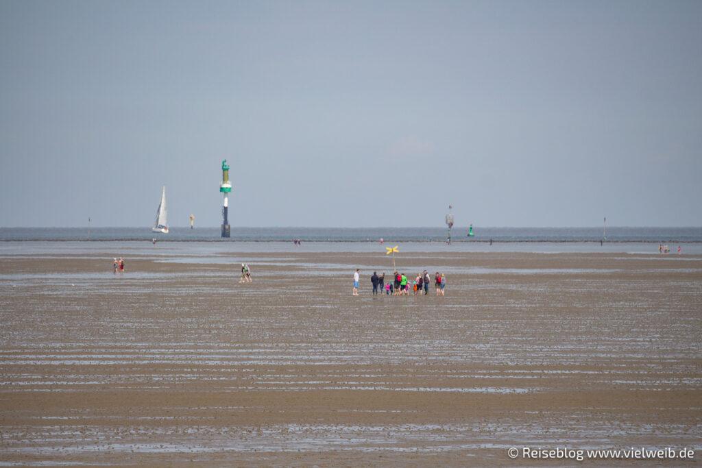 Cuxhaven, Strand, Meer, Nordsee