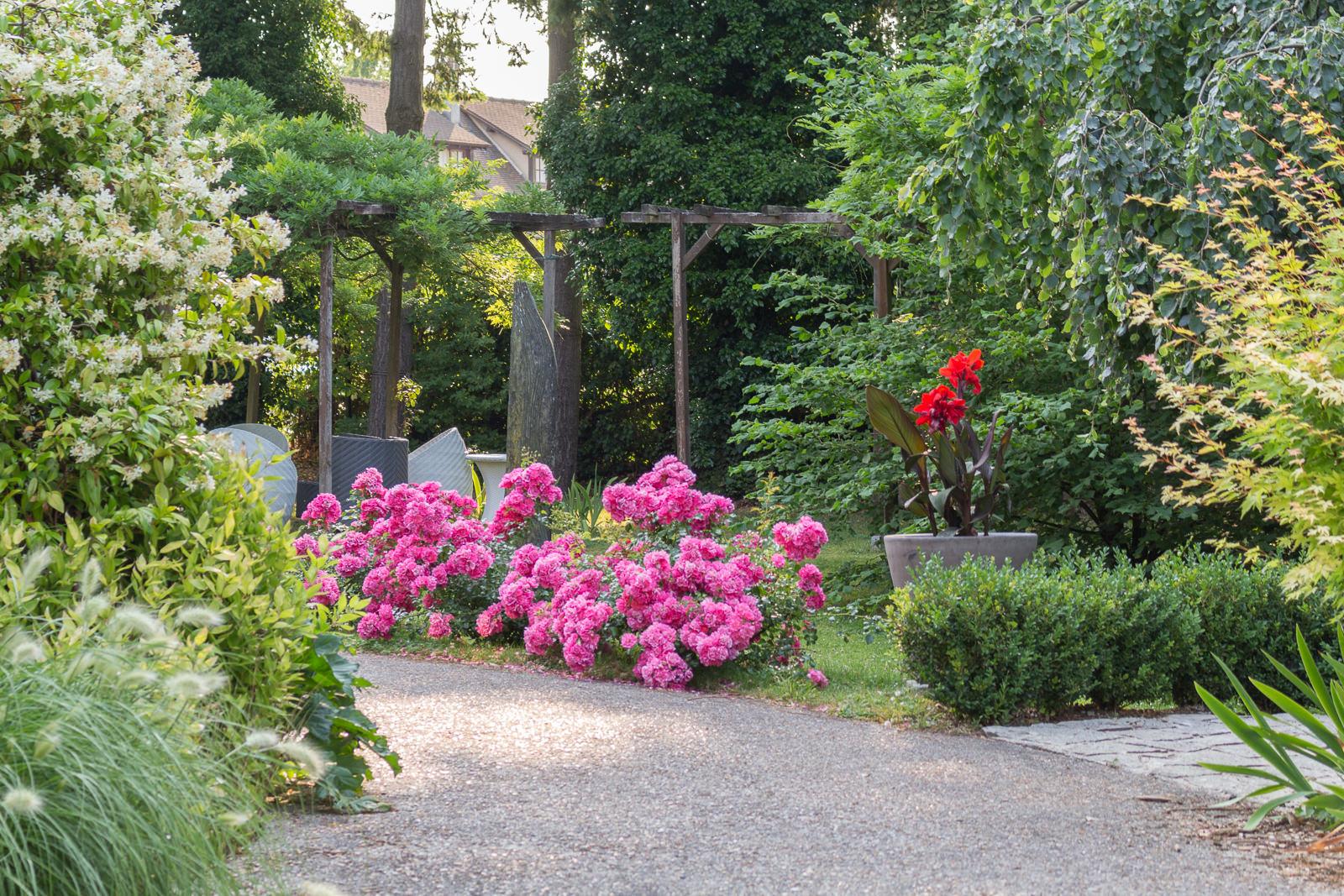 Normandie, Eure, Giverny, Claude Monet, le Jardin des Plumes