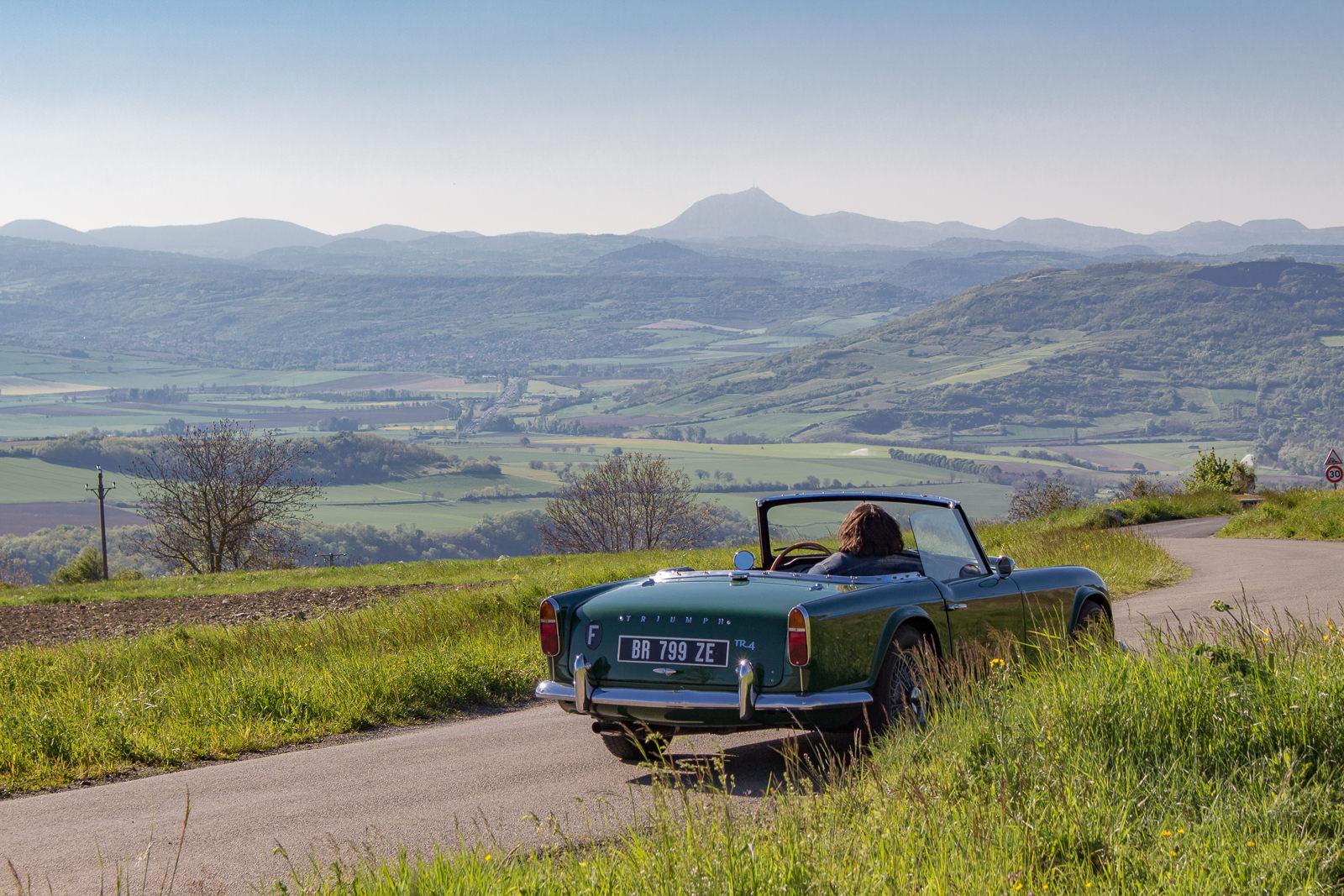 Auvergne, toskanische Auvergne, Cabriotour, Oldtimer, Vintage Car, Roadtrip, classicarverne,