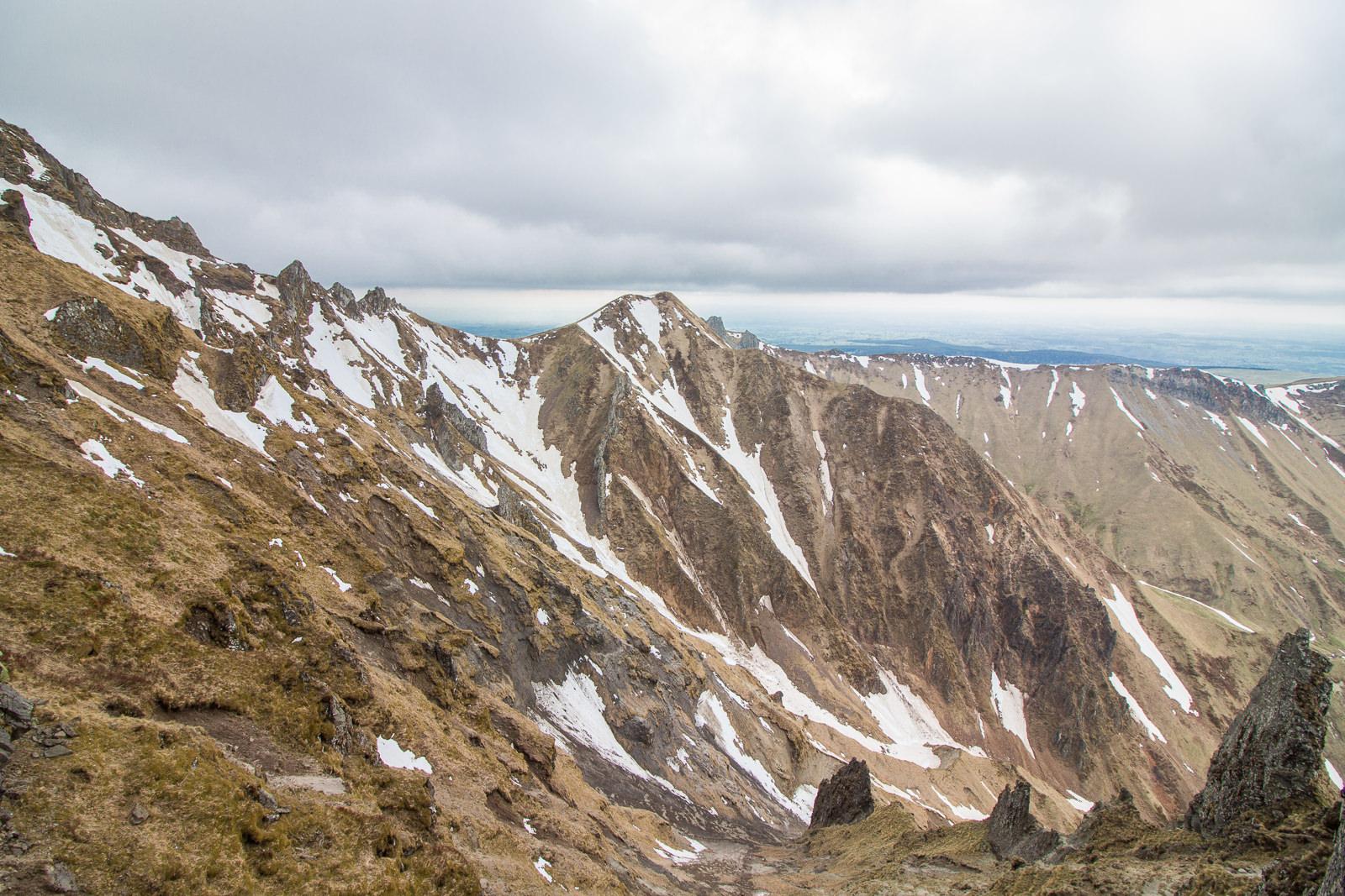 Puy de Sancy, Auvergne, Zentralmassiv, Massif Central, Bergwelt