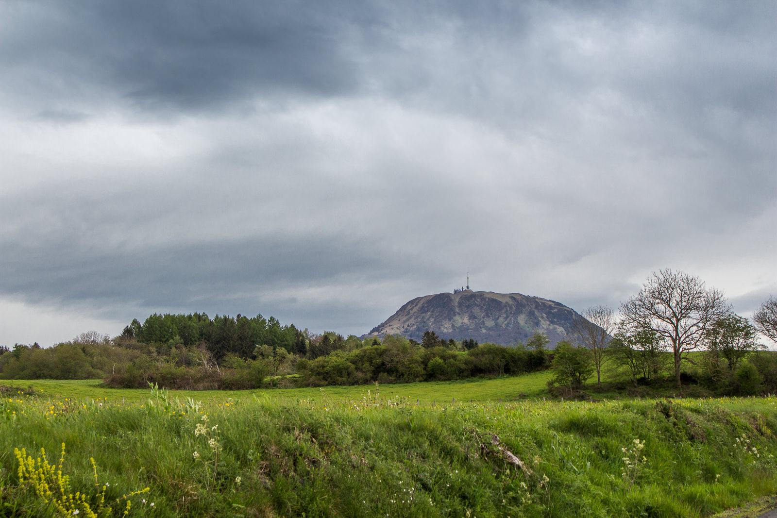 Puy de Dôme, Auvergne, Vulkane, Vulkanketten