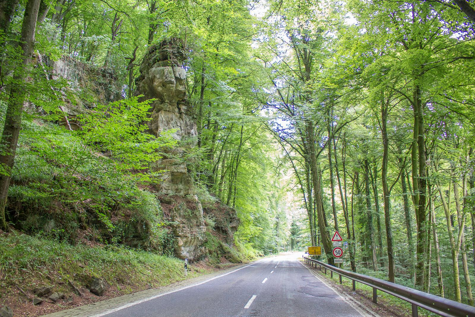 Roadtrip, Cabriotour, Traumstraßen, Luxemburg