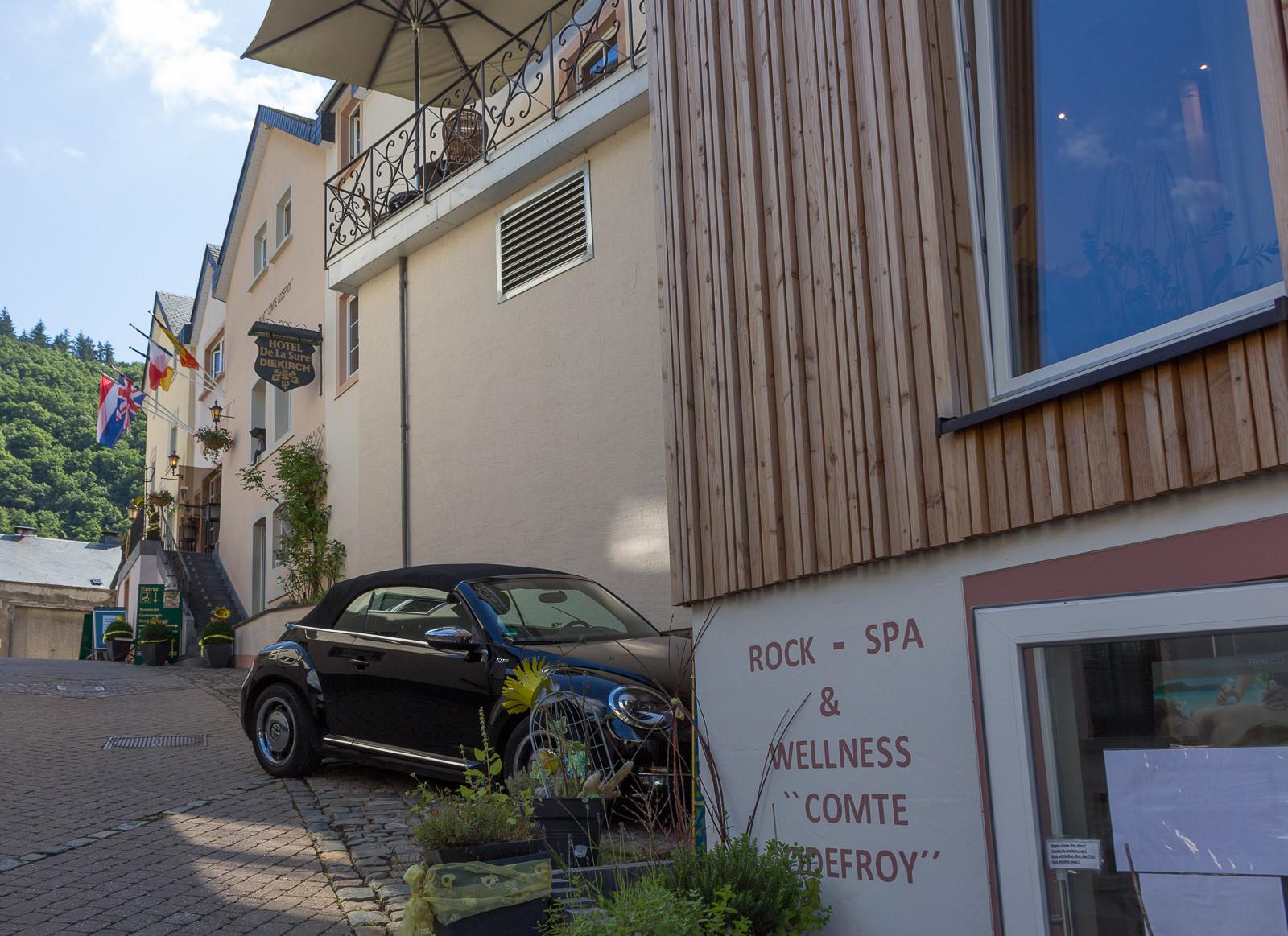 Gourmet & Relax Hôtel de la Sûre in den Ardennen, Wellness, Bikerhotel, Übernachten Ardennen