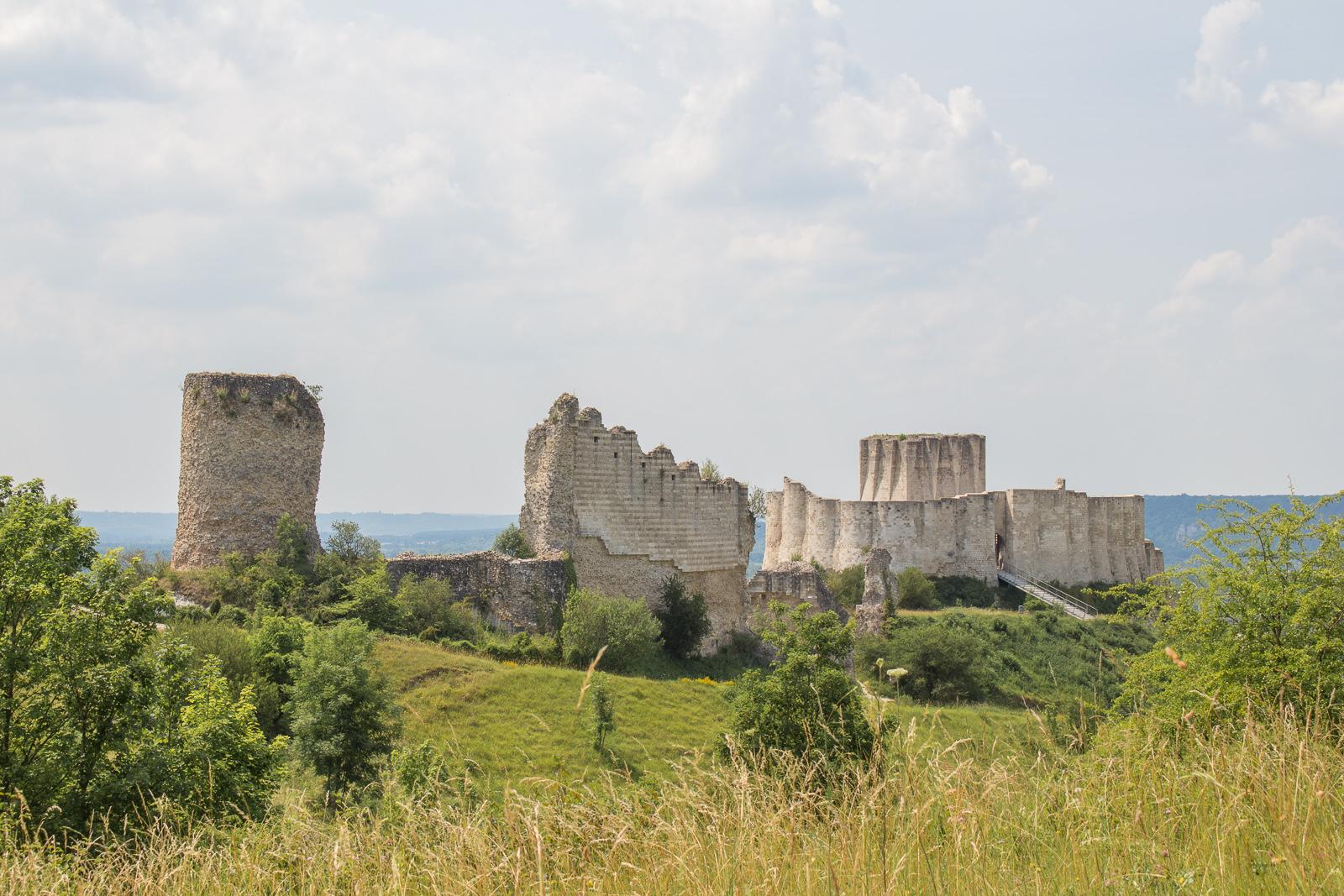 Château Gaillard, Les Andelys, Petit Andely, Normandie, Eure