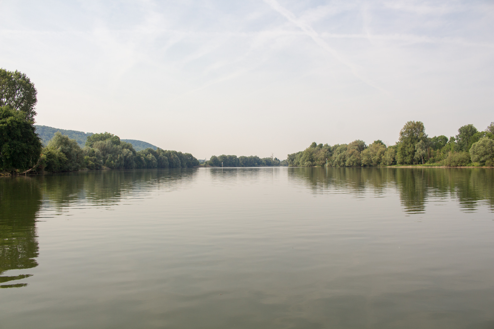 Seine, Normandie, Polny, Liberté Seine, individuelle Bootstour, Bootsfahrt