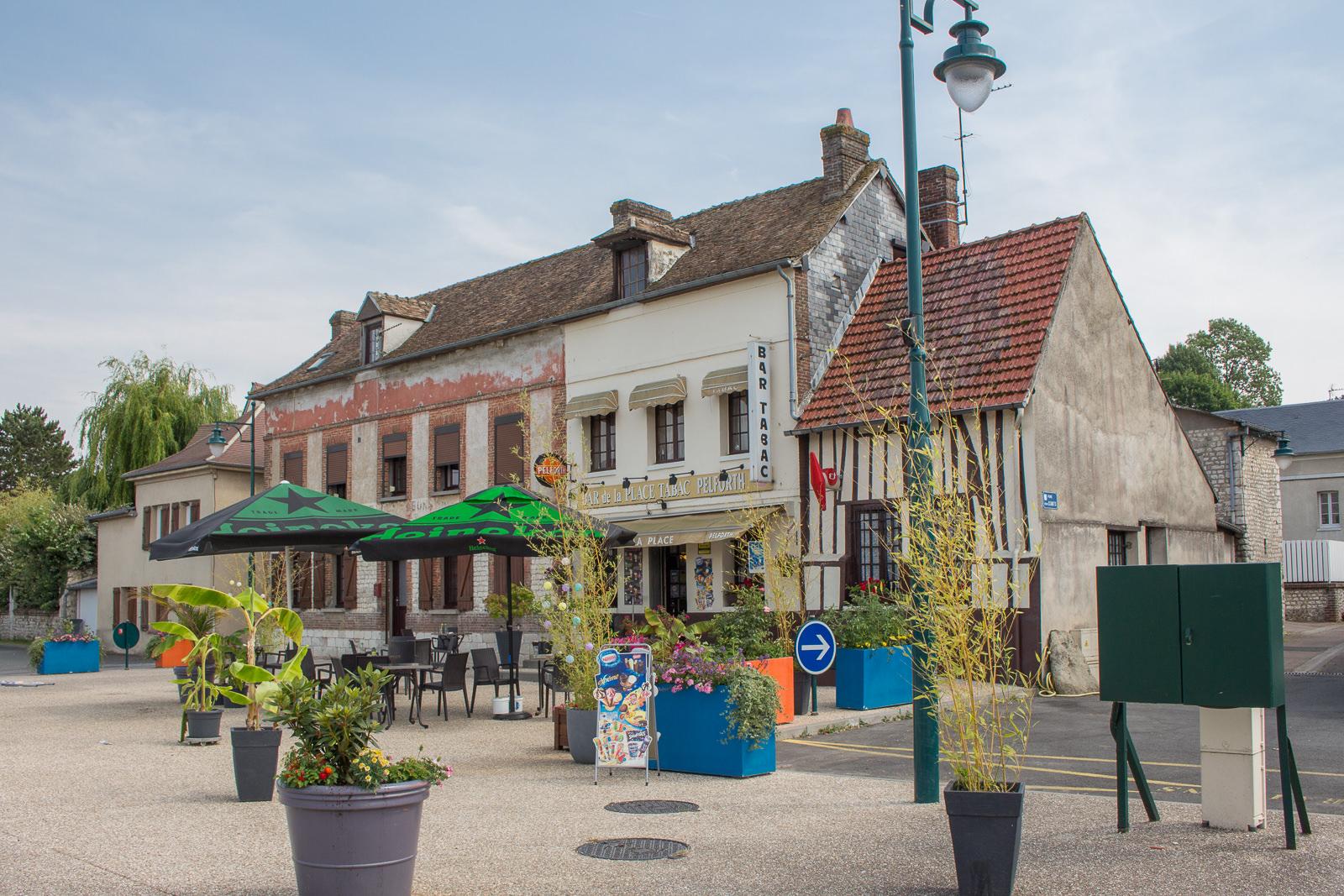 Les Damps, Normandie, Frankreich