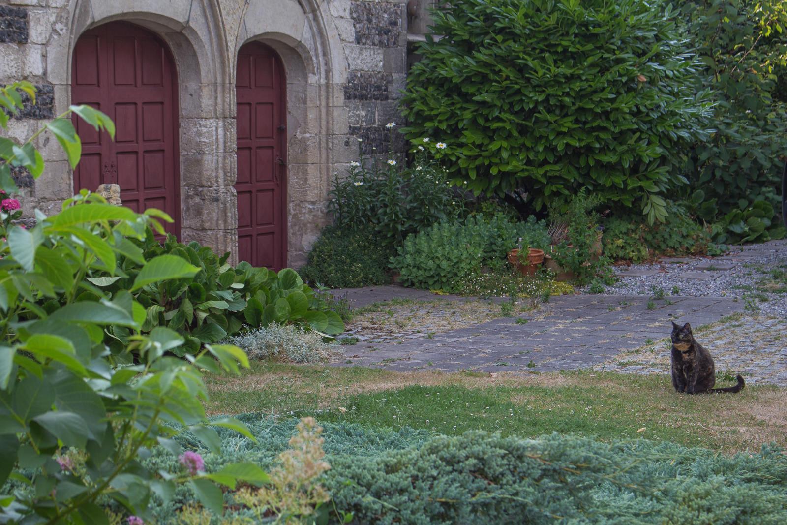 Le Clos Bonport, eure, Normandie, Léry