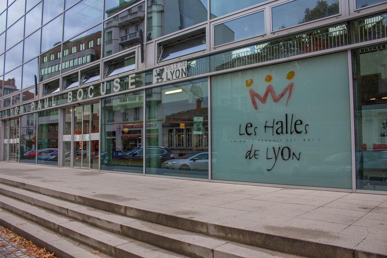 Les Halles de Lyon Paul Bocuse, Markthallen von Paul Bocuse, lyon,