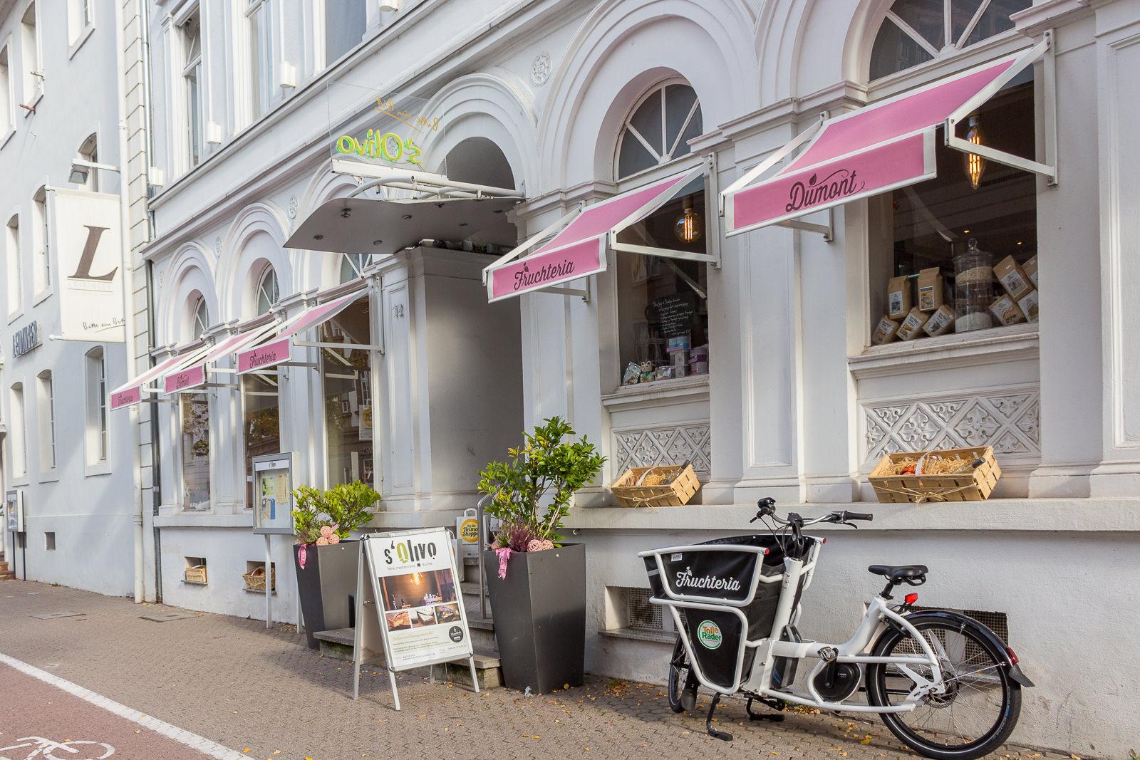 Fruchteria im Hotel Leidinger: Shoppen von regionalen Köstlichkeiten
