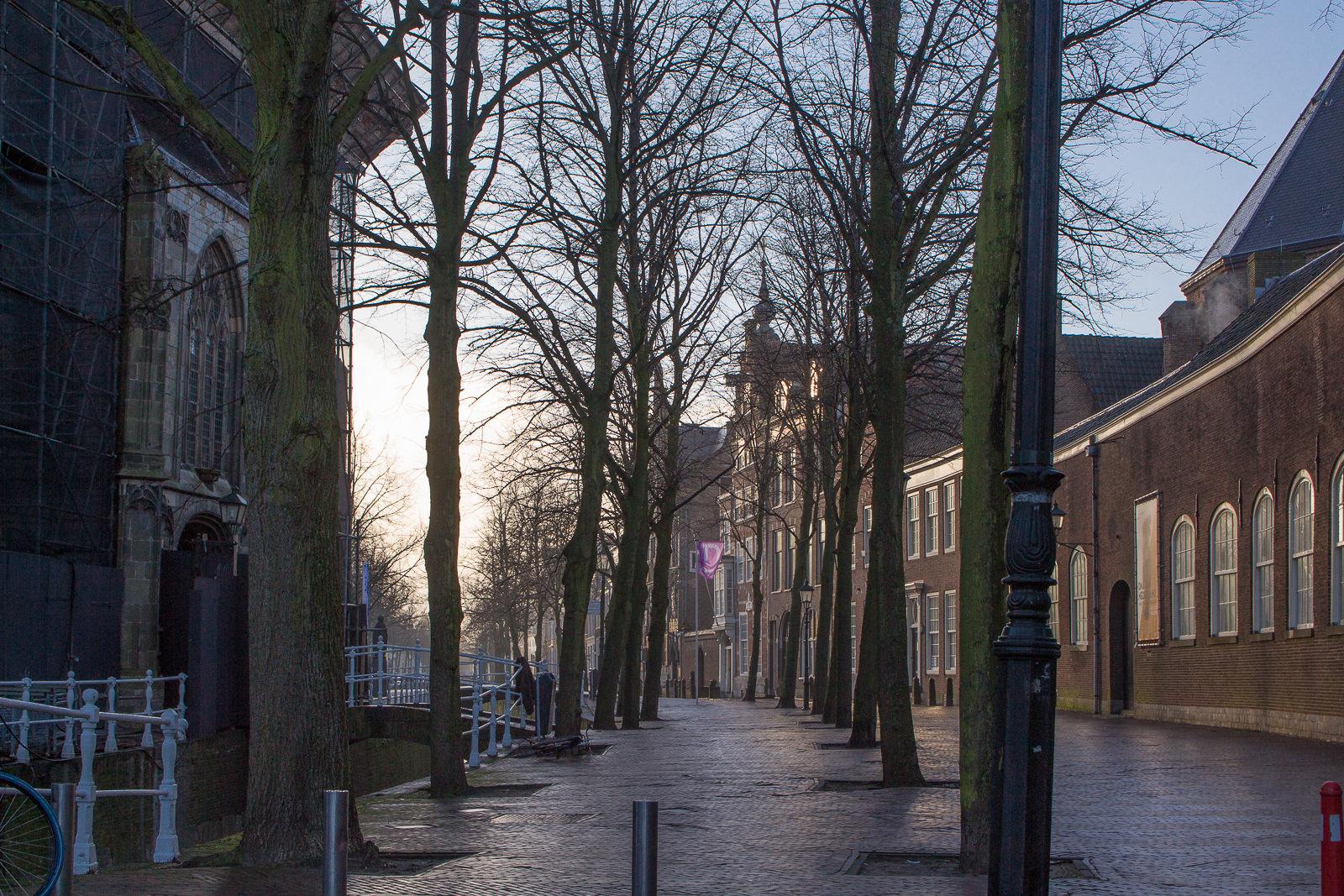 delft, südholland, holland, niederlande, städtetrip, sightseeing, kirche