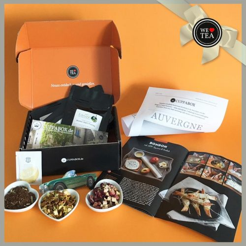 Cuppabox, Tee, Auvergne-Box