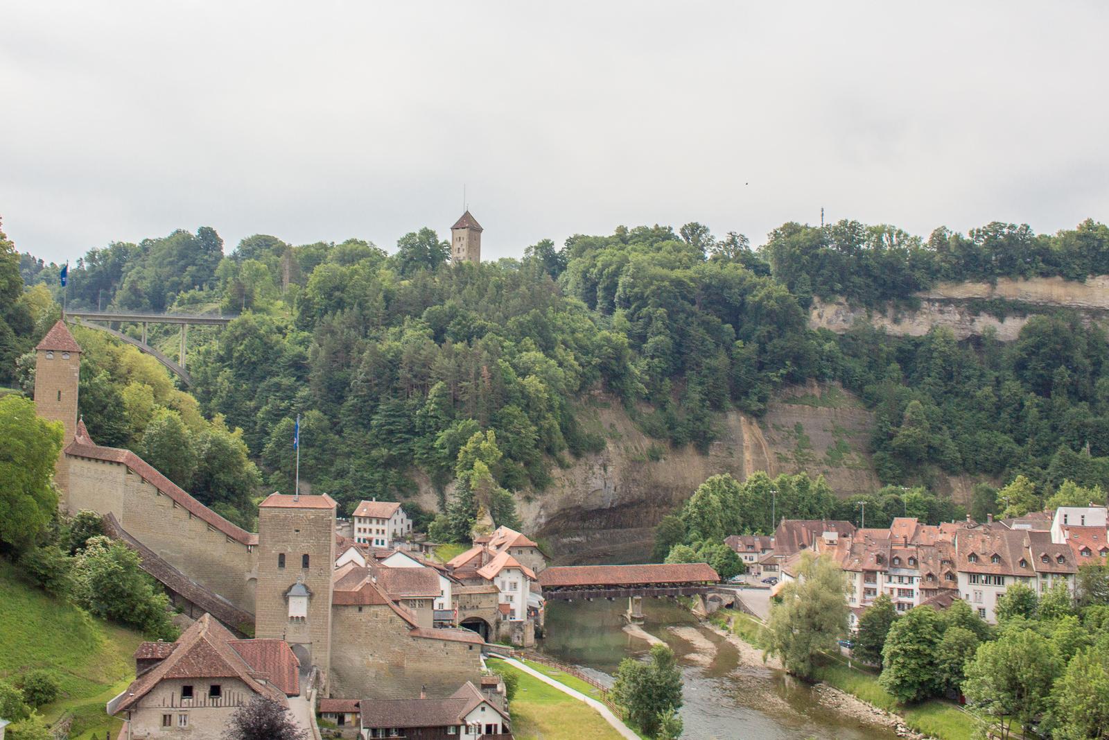 Fribourg, Freiburg, Schweiz, City Card, Freizeitkarte, Citytrip, Bernbrücke