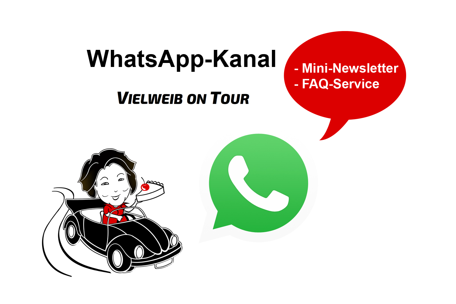 Whatsapp Broadcasting Kanal Channel Vielweib