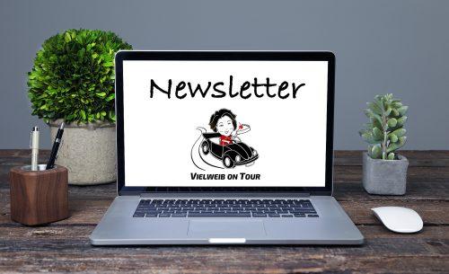 Newsletter, Reiseblog Vielweib on Tour