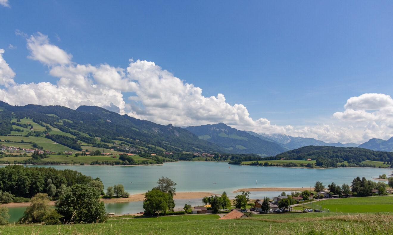 Roadtrip Freiburg, Kanton Freiburg, Schweiz, Seen, Seentour, Lac de Gruyère
