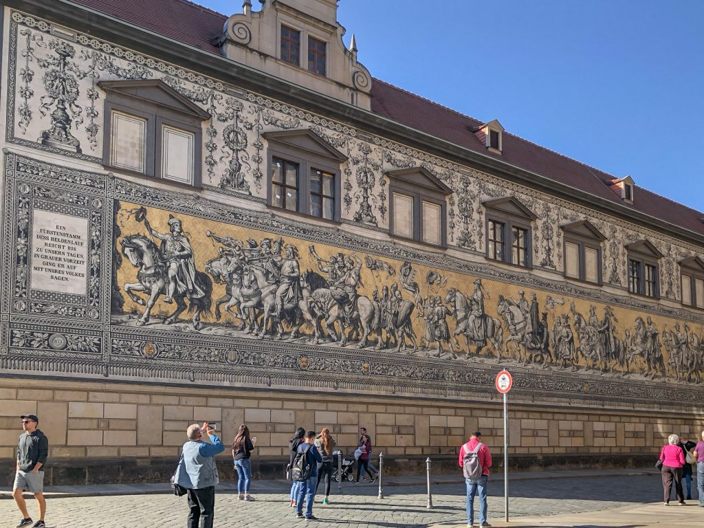 Dresden, Elbland, Fürstenzug