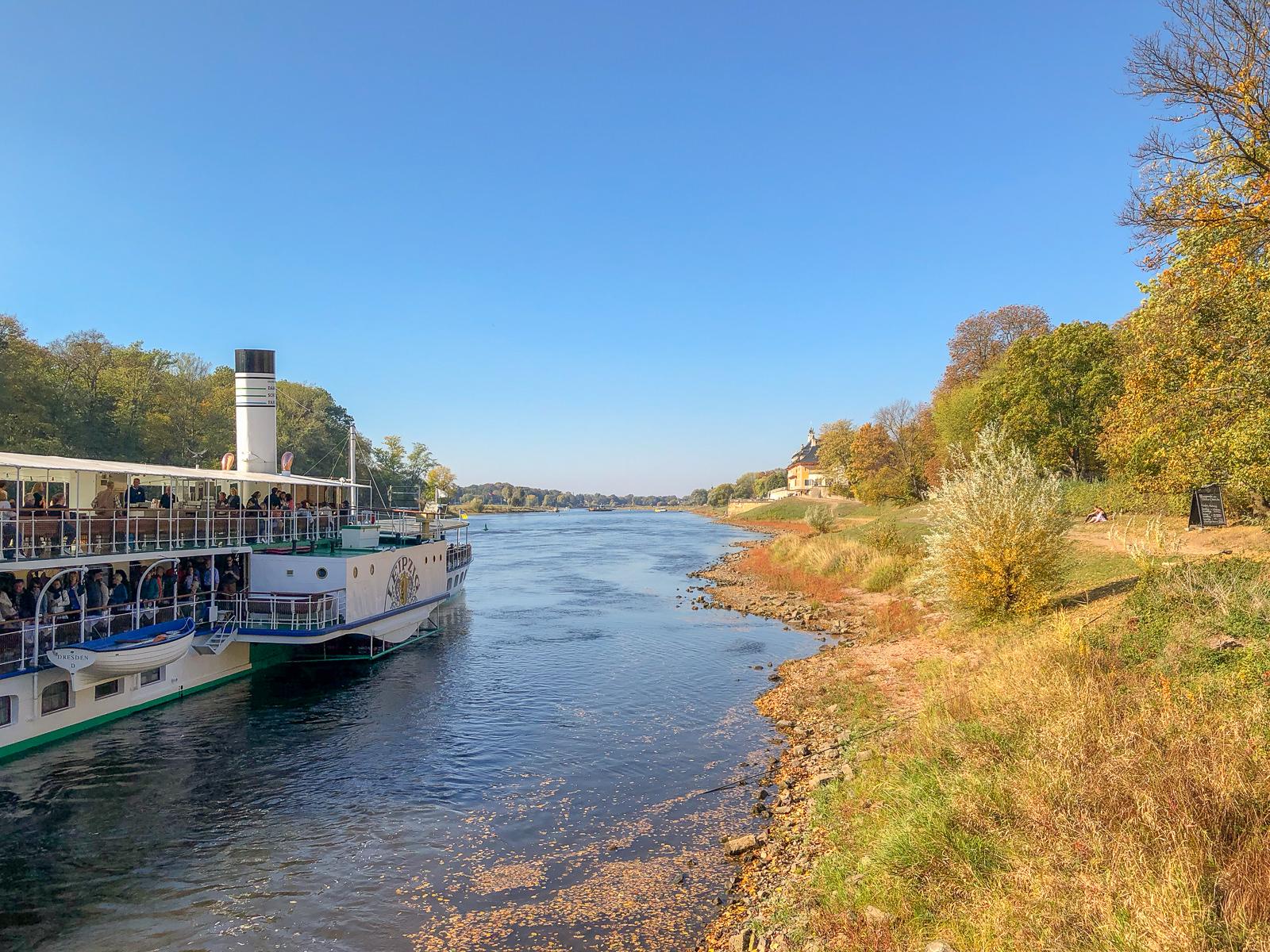 Dresden, Elbland, Schifffahrt
