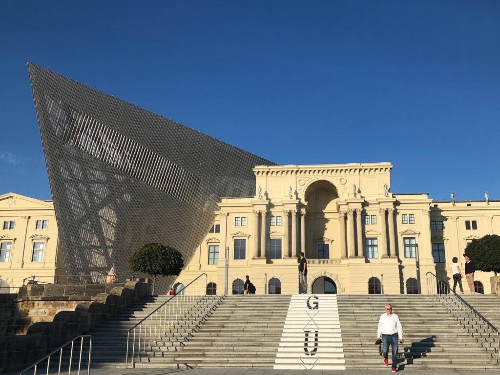 Dresden, Elbland, Militärhistorisches Museum der Bundeswehr