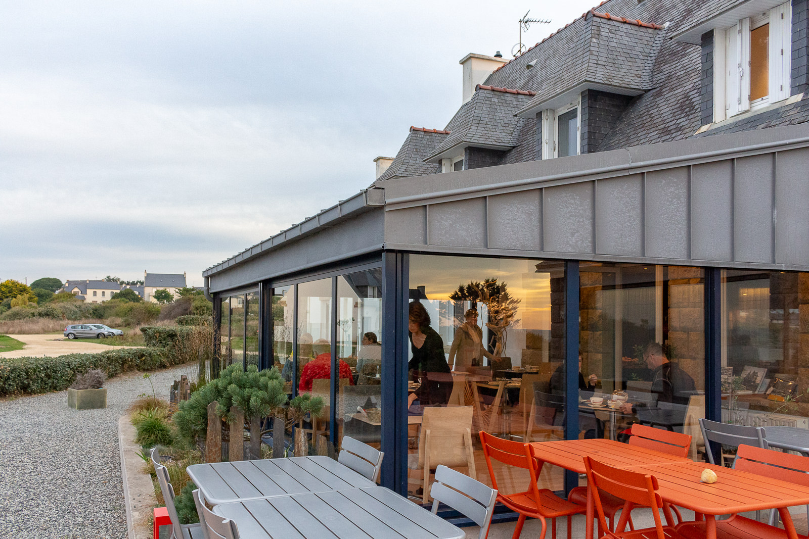 Bretagne, Ar Men Du, Hotel, restaurant