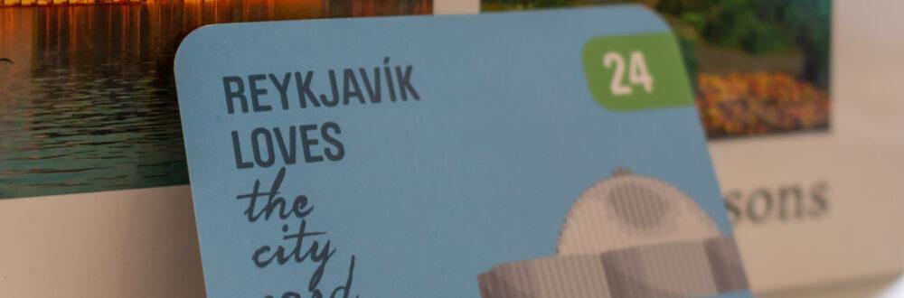 Reykjavik, Freizeitkarte