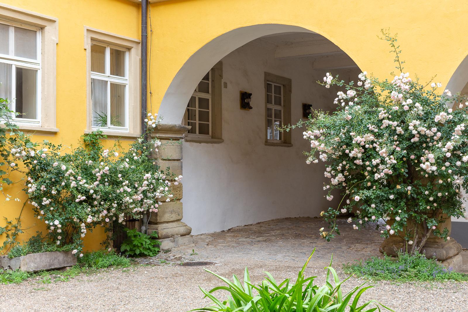 Schloss Zeilitzheim, Fränkisches Weinland