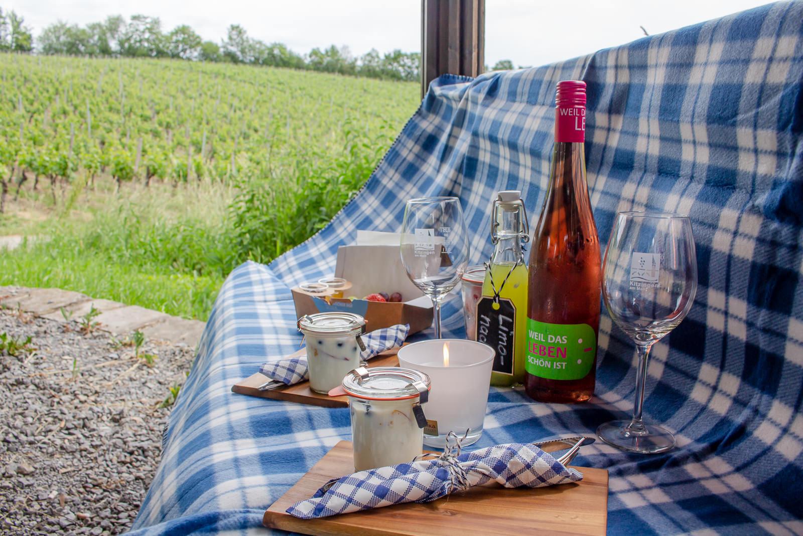Kitzingen, Fränkisches Weinland, Picknick