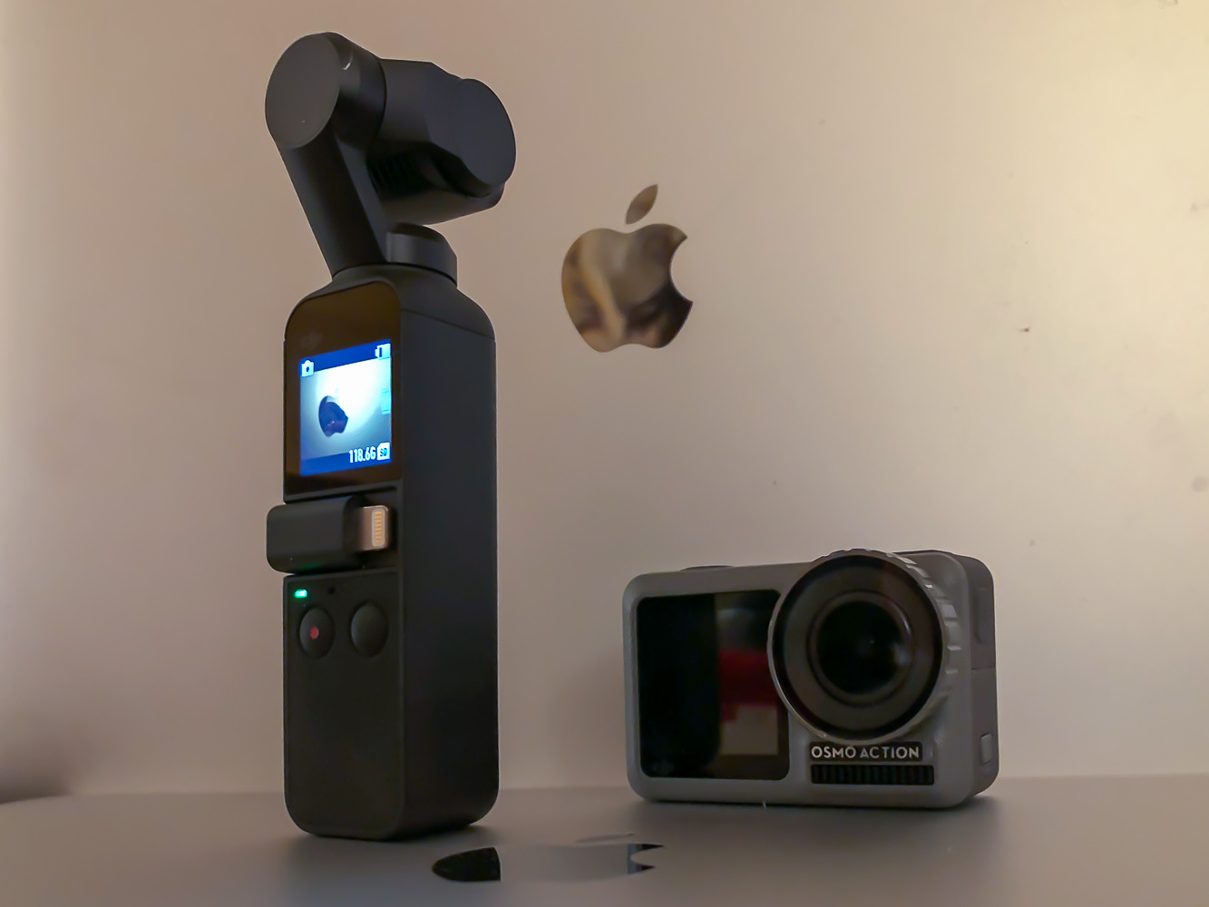 dji osmo pocket, dji osmo action cam