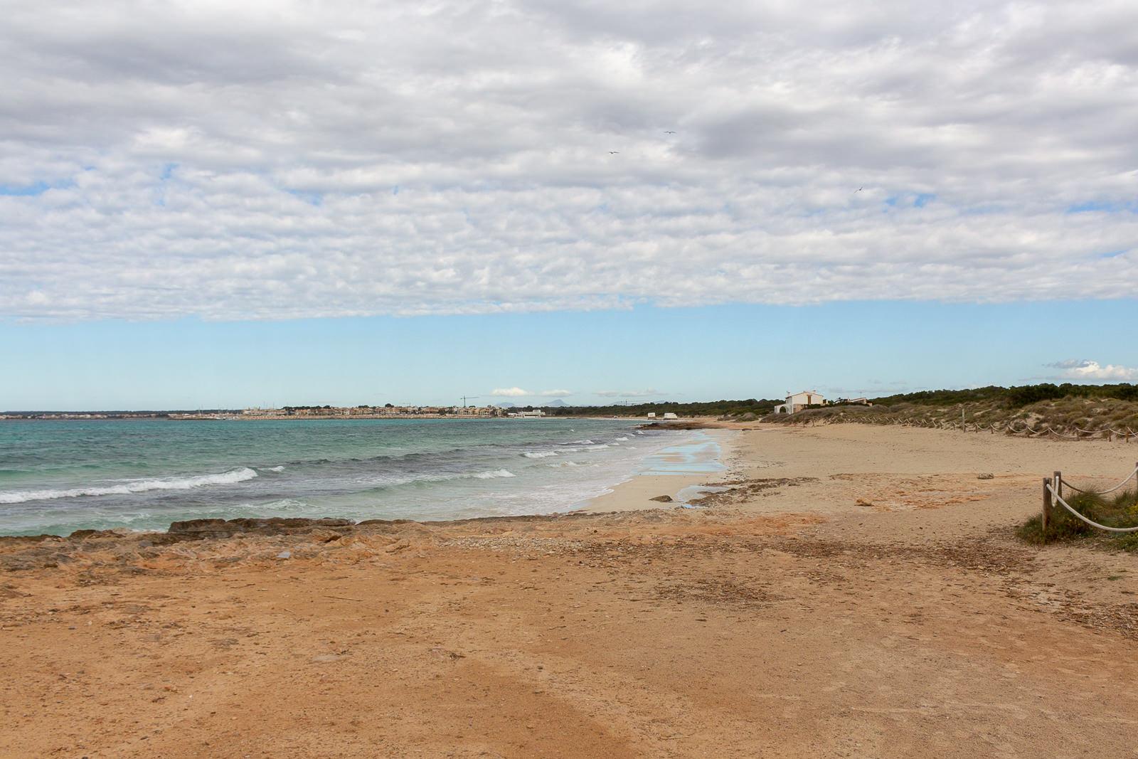 Mallorca, Strand, Strände, Meer, Vorsaison, eS TRENC