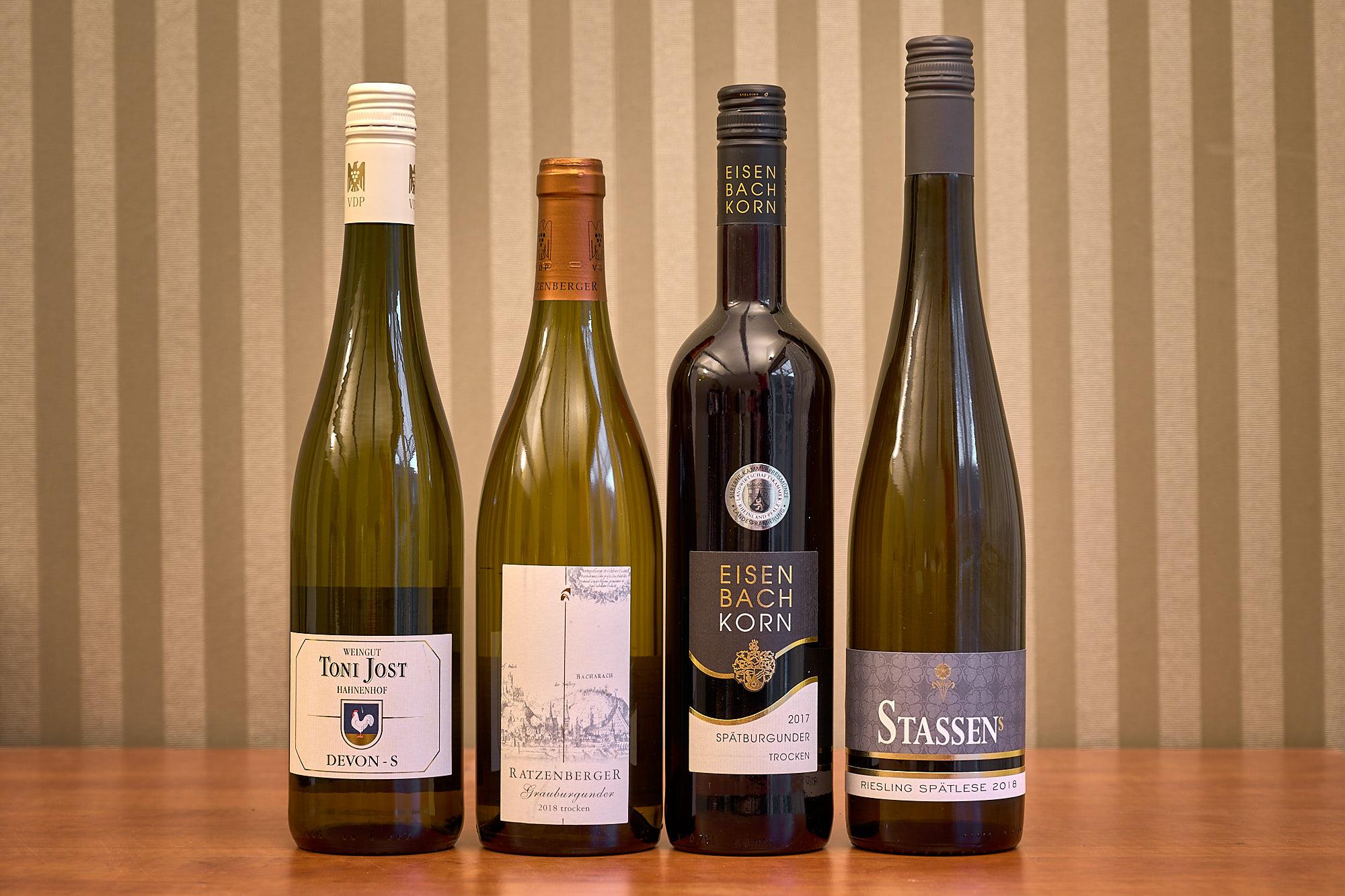 Das ausgesuchte Weinpaket zum digitalem Kochkurs Vol 3 Foto: © Achim Meurer www.achimmeurer.com